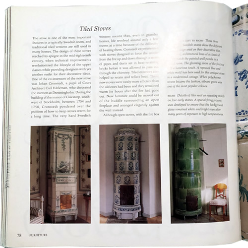 Tile Stoves, Swedish Style: Creating the Look by Katrin Cargill