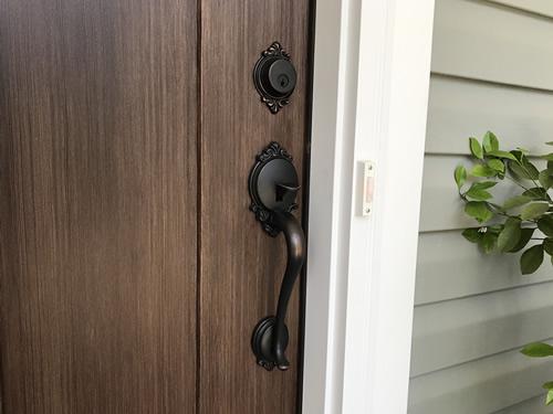 The Brookshire front door handle
