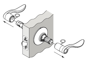 Changing Lever Orientation on Schlage Handle Sets