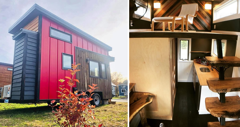 Little Red Tiny Towable from Blue Ridge Tiny Homes