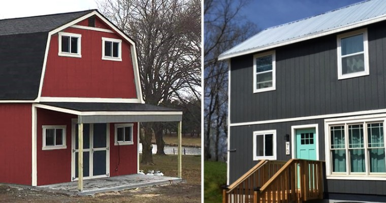 Comparing the Barn and the Farmhouse from Tuff Shed