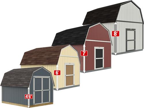Compare Tuff Shed Barns