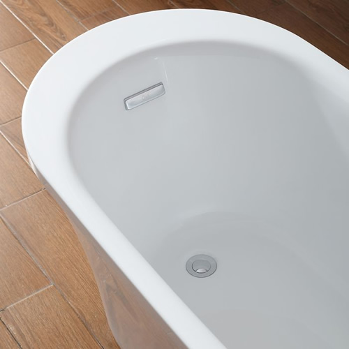 OVE Decors Ruby Freestanding Tub Drain and Overflow
