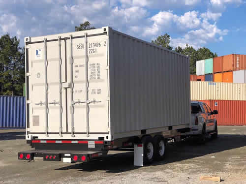 Casa Cubed begins with a strong and durable shipping container.
