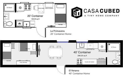 Casa Cubed Shipping Container Home Plans