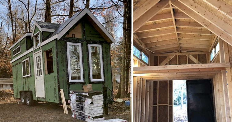 Finish-It-Yourself Tiny House Shell