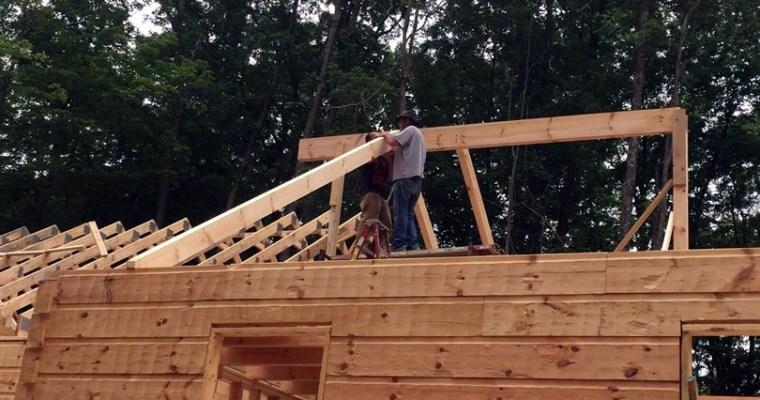 Thompson Ridge Log Cabin Kit from Log Cabins for Less
