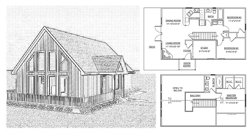 Landmark Panelized Kit Homes