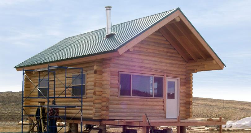 $13,000 Log Cabin Kit from Bachman Log Homes