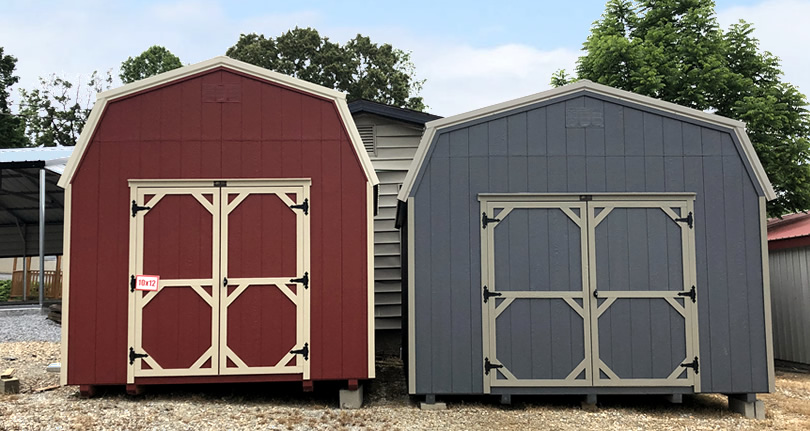 Comparing 12 x 12 Sheds and Barns