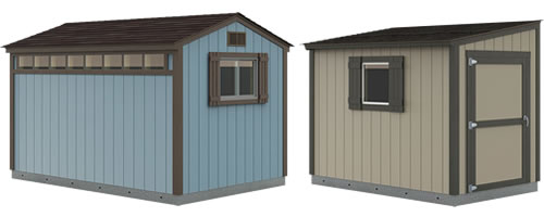 Premier Ranch and Premier Lean-To Tuff Shed Storage
