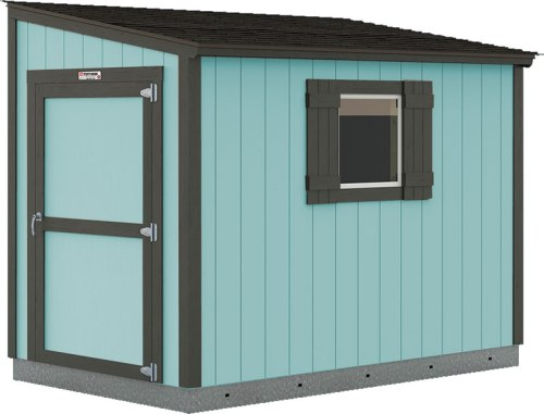 You can paint the shed any color you want.