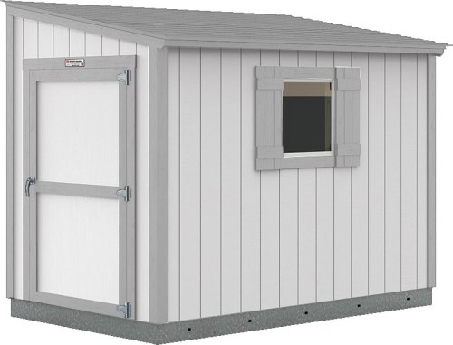 Tuff Shed Premier Lean-To painted Solitary State with Dovers Gray trim