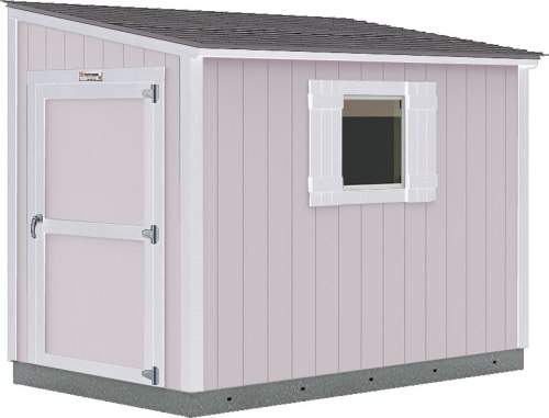 You can choose from lot of colors, or buy the Tuff Shed Lean-To unpainted and choose your own paint.