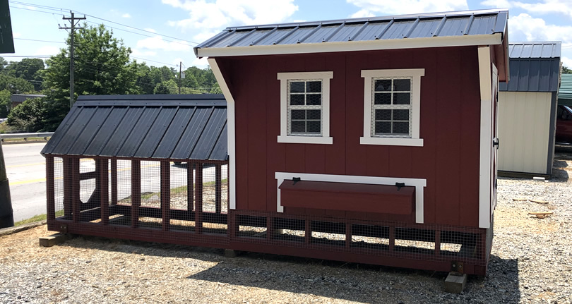Pre-Fab Chicken Coops