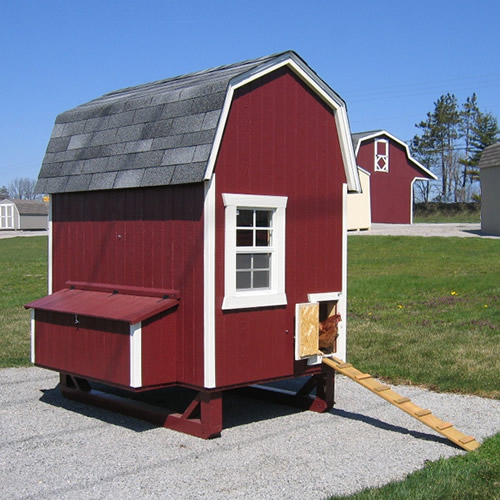 Gambrel Barn Coop from the Little Cottage Company
