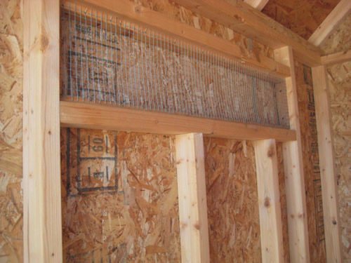 There is a vent to keep the chickens cooler in the summer. It closes to keep them warmer in the winter. There is wire over it, so chickens won't get lost and predators won't get in. Little Cottage Company Chicken Coop Kits