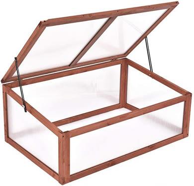 Giantex Wood Cold Frame