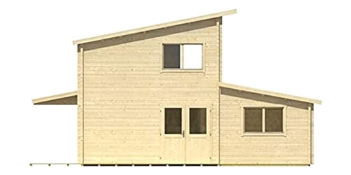 Allwood Eagle Point Cabin Side View