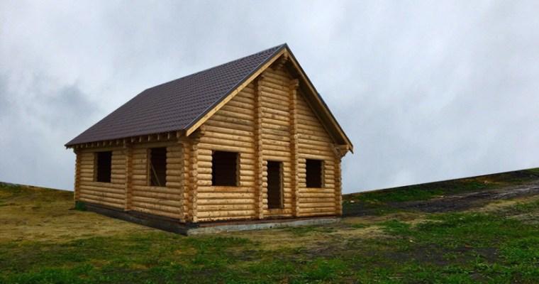 Russian Pine 2 Story Log Cabin Kit