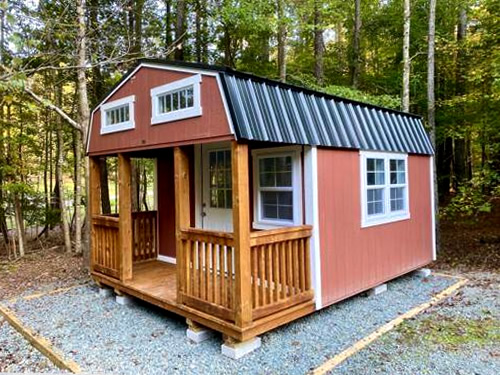 12x16 Sheds By Design Lofted Barn