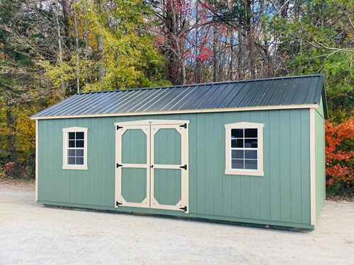 12x24 Sheds By Design Lofted Barn