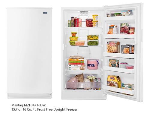 Maytag MZF34X16DW 16 Cu. Ft. Frost Free Upright Freezer