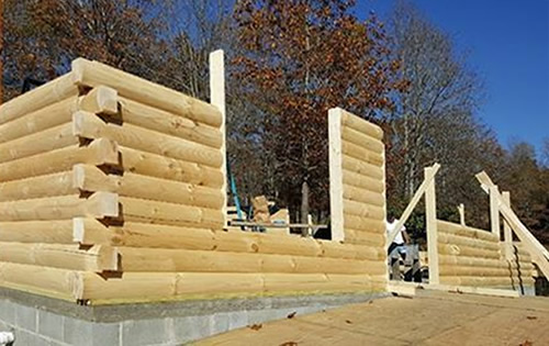 Build Your Log Cabin with a kit from Log Cabins for Less