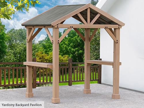 Yardistry Backyard Pavilion Kit