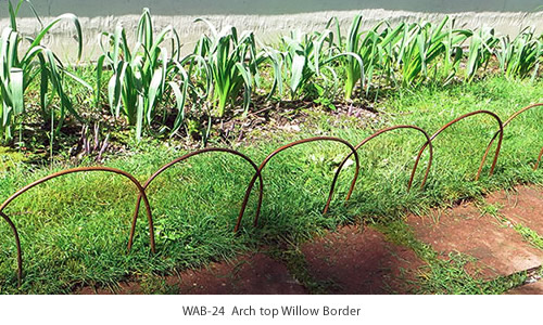 WAB-24 Arch Top Willow Border