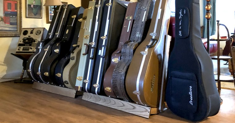 String Swing CC29 Guitar Case Racks