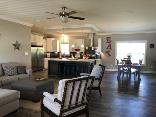 Open Floor Plan - The Stanley III Modular Home
