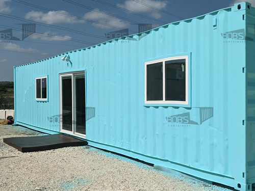 Container Home from Bob's Containers