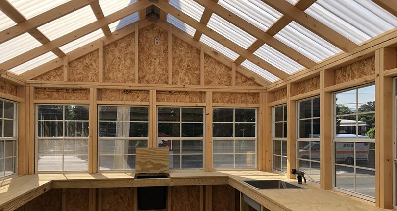Carolina Storage Solutions Modular Greenhouse