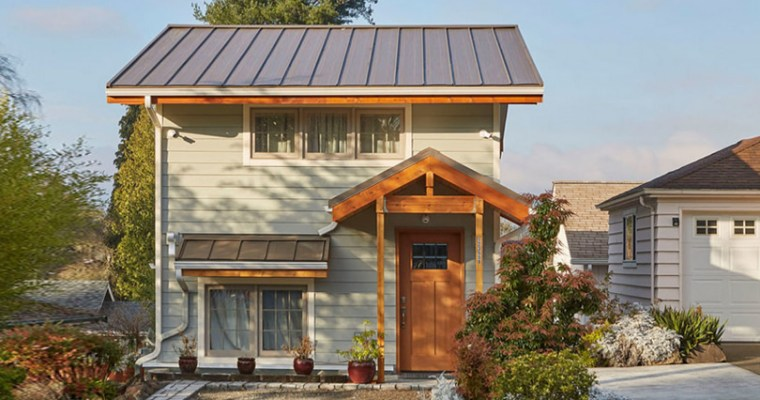 Ravenna Small House Kit from Lindal Cedar Homes