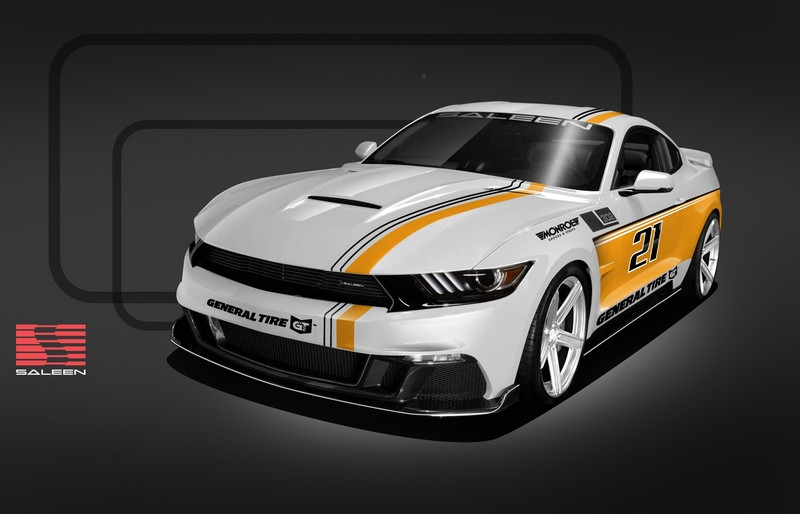 Saleen Unveils 30-Year Championship Mustang
