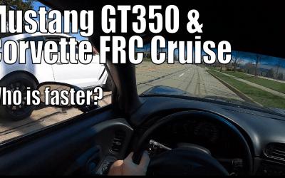 Mustang GT350 vs c5 Corvette frc