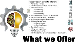 What we offer