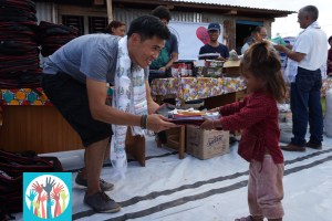 """""""One Schoolbag for each Child"""" aims to support children in rural areas of Nepal."""