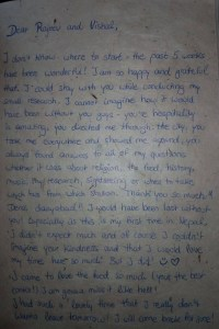 Testimonial - Britta - March to April 2017