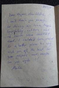 Testimonial - Martin - March 2018