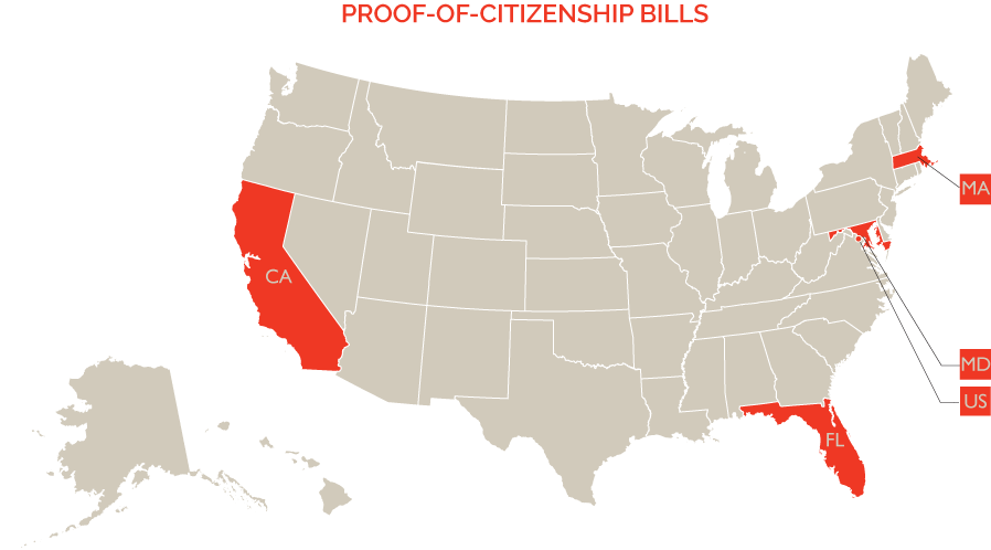 PROOF-OF-CITIZENSHIP-LEGISLATION-MAP-JULY-2016
