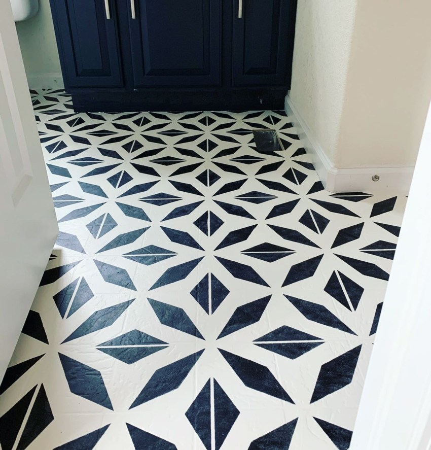 How To Paint Linoleum Floors Project Whim