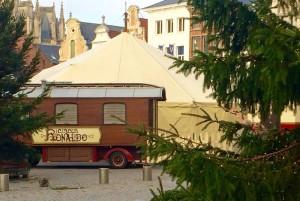 Circus Ronaldo op de Grote Markt in Mechelen