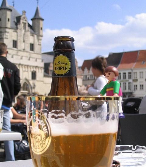 Gouden Carolus Tripel op de Grote Markt in Mechelen(Peter Meuris/Flickr)