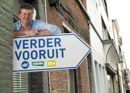 Bart Somers verder vooruit campagne