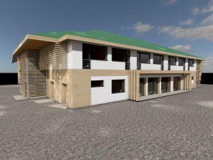 projekt i wizualizacja hotelu