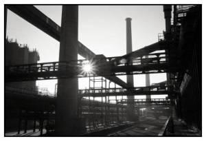 Zeugnis vergangener Tage: Die stillgelegte Zeche Zollverein in Essen. Immer noch im Einsatz sind die Organisationsmodelle aus dieser Zeit.