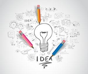 Mit einer Idee beginnt alles. Und dann?
