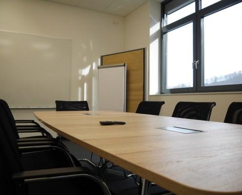 Babbelfisch. Der kleinere der beiden Workshopräume im #projektraum42.